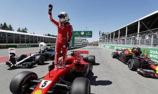 Sebastian Vettel, Lewis Hamilton, Ferrari, Mercedes, Formula 1, GP Kanada,