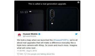 Huawei Mengejek Samsung, Huawei P20 Pro, Samsung Galaxy Note 9