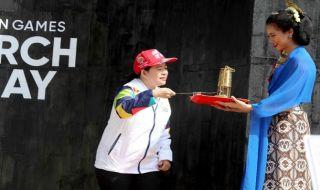 Puan Maharani, Asian Games 2018, Api Abadi