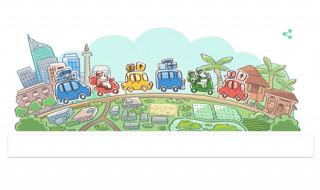 mudik lebaran, google doodle mudik, selamat mudik 2018