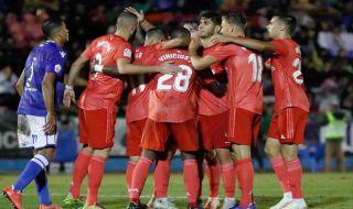 Copa del Rey 2018-2019, Real Madrid, Melilla, Melilla 0-4 Real Madrid