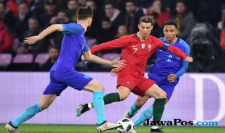 Portugal 0-3 Belanda, Cristiano Ronaldo