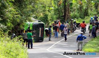 kecelakaan bus, KNKT, bus pariwisata,