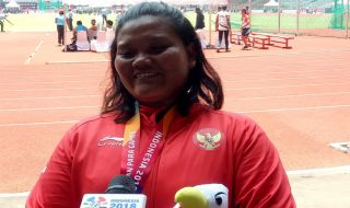 Suparniyati, Indonesia, Asian Para Games 2018, Medali Emas, Atletik
