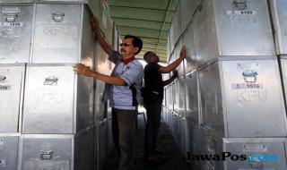 kotak suara, logistik, pilkada, pemilu, kpu