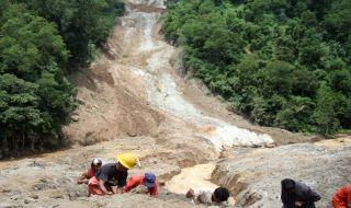 tanah longsor, malaysia, pekerja migran,