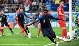 Piala Dunia 2018, babak Semifinal, Prancis, Belgia, Prancis vs Belgia