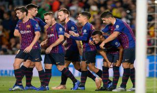 Liga Champions 2018-2019, Barcelona, Inter Milan, Barcelona 2-0 Inter Milan