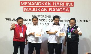 Telkomsel 5G, 5G Experience Center, Telkomsel 5G Asian Games