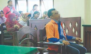 Pandu Dharma Wicaksono, terdakwa sodomi divonis, sodomi vonis