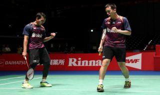 Tiongkok Terbuka 2018, Hendra Setiawan/Mohammad Ahsan, bulu tangkis, Indonesia