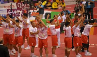 Asian Games 2018, Sepak Takraw, Tim Indonesia, Malaysia