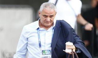 Tite, Timnas Brasil, Piala Dunia 2018