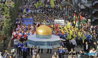 Yerusalem, demo Donald Trump