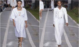 paris fashion week, pfw, Virgil abloh, busana off white,