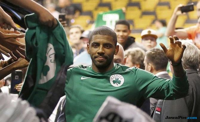 Antusiasme Irving jadi Andalan Baru Boston Celtics