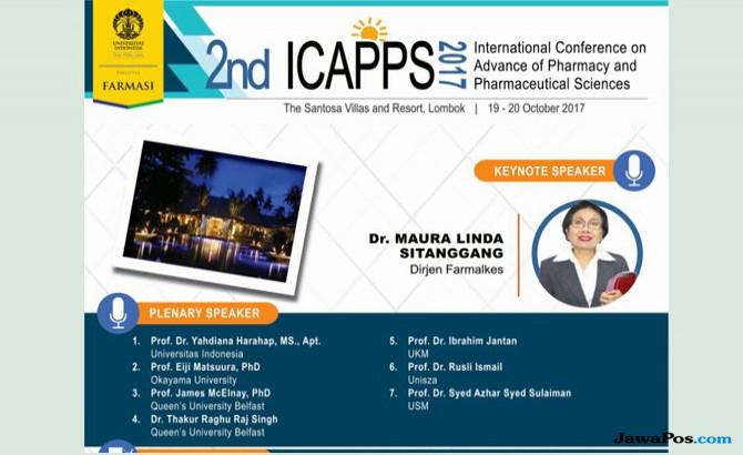 Bahas Farmasi, 7 Profesor Kesehatan Dunia Berkumpul di Lombok