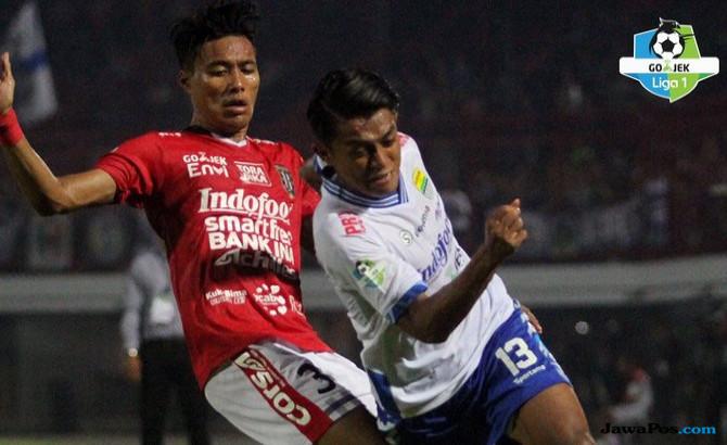 Bali United vs Persib Berakhir dengan Skor Identik