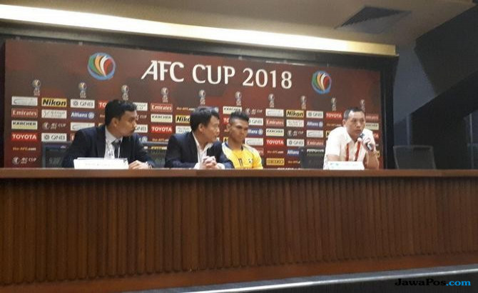 Persija jakarta, nguyen duc thang, song lam nghe an, AFC Cup 2018,