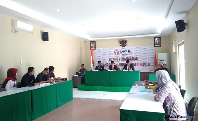 Bawaslu Riau Hadirkan KPU dan Panwaslu Pekanbaru