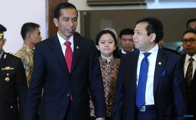 Jokowi dan Novanto