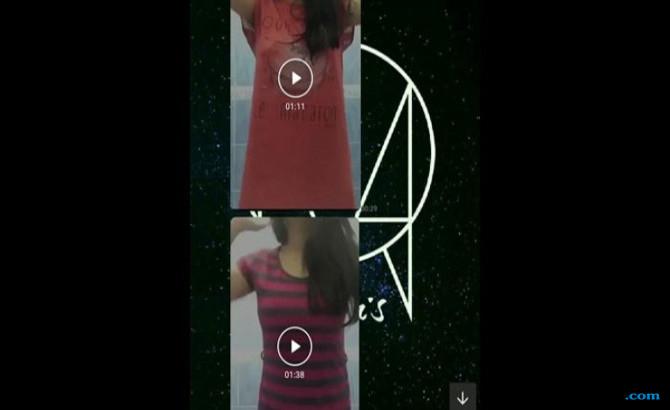 Beredar Video Gadis Umbar Kemolekan Tubuh, Tak Bermoral!