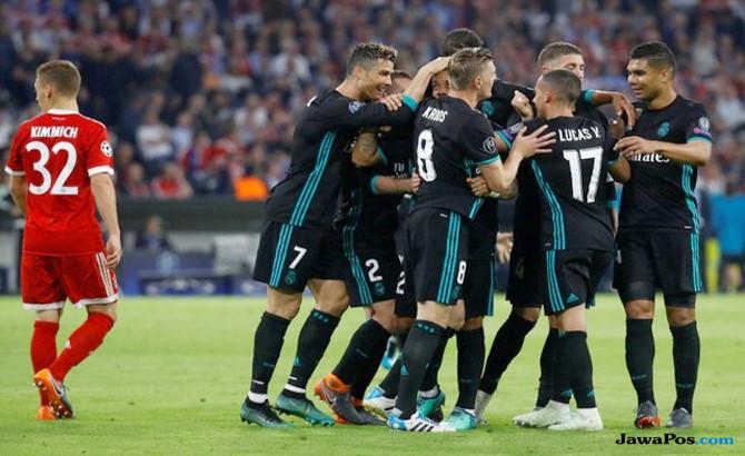 Liga Champions, Real madrid, bayern muenchen