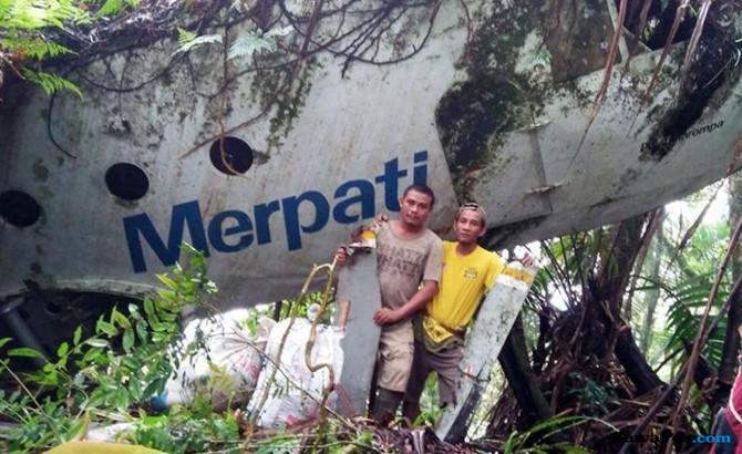 Cerita di Balik Penemuan Bangkai Pesawat Merpati di Hutan Gorontalo