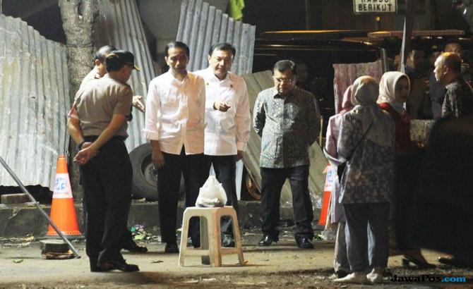 Datangi Lokasi Tanpa Rompi Anti Peluru, Ini Pesan Jokowi
