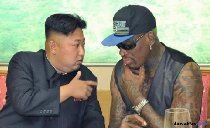Dennis Rodman, Donald Trump, Kim Jong Un