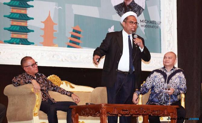 Ngabalin: Di Hadapan Relawan Jokowi, Ngabalin Beberkan Visi
