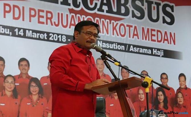 Djarot Ingatkan Kader PDIP Jangan Sombong