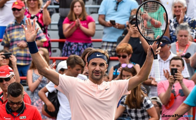 Federer Pertajam Rekor atas Ferrer, 17 Pertemuan Selalu Menang