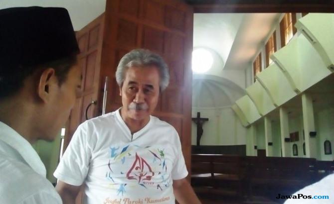 Ketua dari Gereja Katolik Santa Lidwina, Sukatno
