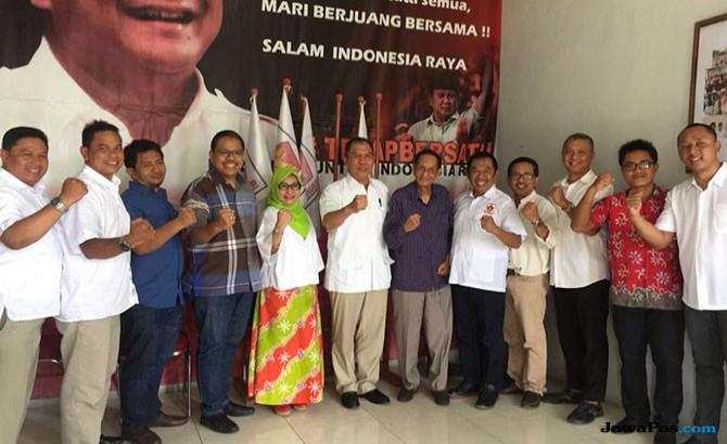 Gerindra Surabaya Wajibkan Bacalegnya Menangkan Gus Ipul-Puti