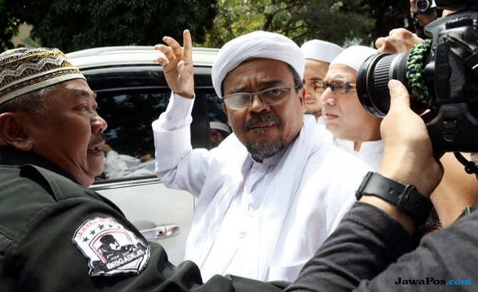 Habib Rizieq Jadi Capres 2019, Nih Kata FPI