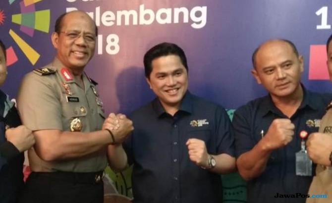 Asian Games 2018, Erick Thohir, harga tiket