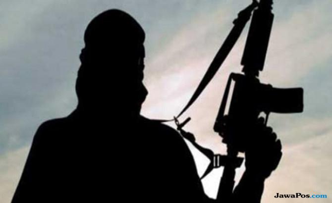 hendak beraksi saat coblosan terduga teroris ditembak mati