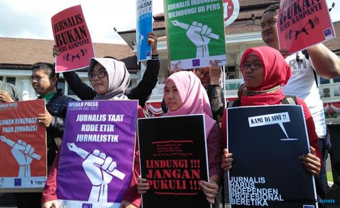 IJTI Kecam Insiden Kader PDIP Geruduk Kantor Radar Bogor