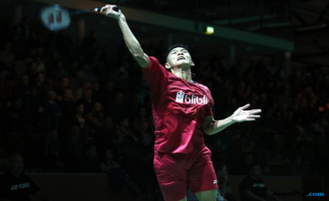 Jonatan Christie, All England 2018