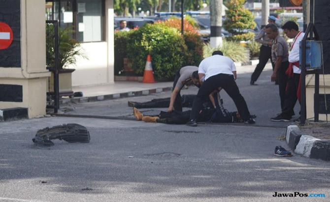Ini Identitas 4 Terduga Teroris yang Serang Mapolda Riau