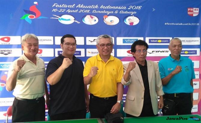 Festival Akuatik Indonesia 2018, PRSI