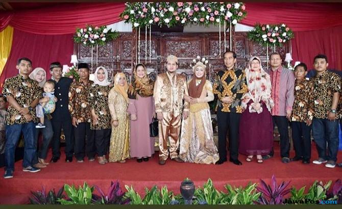 Kondangan, Ini Doa Jokowi buat Pernikahan Anak Mantan Sopirnya
