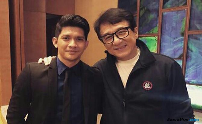 Iko Uwais besama Jackie Chan
