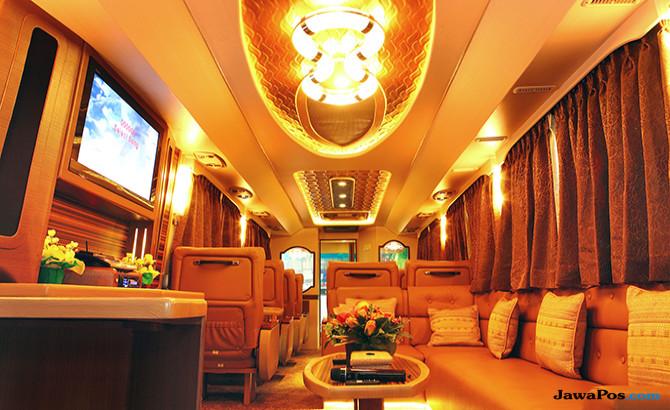 Luxury Home Bus: Hotel Bintang Di Dalam Kabin Bus