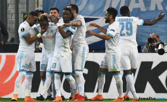 Marseille 2-0 Salzburg, Hasil Marseille vs Salzburg, Liga Europa 2017-2018, Semifinal, Olympique Marseille