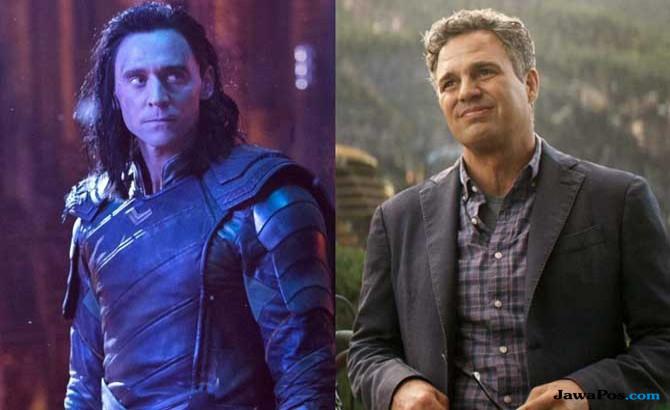 Loki dan Bruce Banner