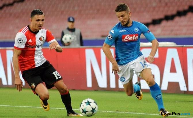 Napoli Akhirnya Perlihatkan Superioritas di Liga Champions