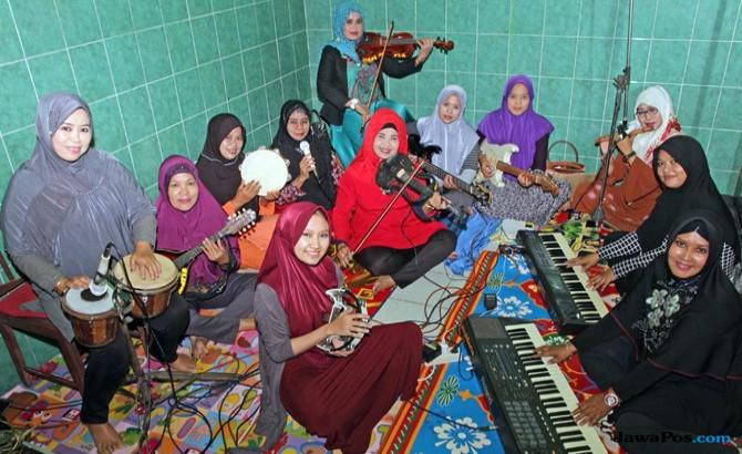 Nasida Ria, Legenda Kasidah Indonesia yang Terus Bertahan (1)