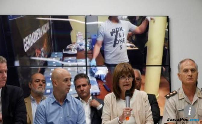 Ngeri, 400 Kg Kokain Ditemukan di Kedutaan Rusia